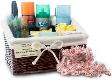 With You In Mind Inc - Restroom Amenity Basket - Women - more than 50 guests