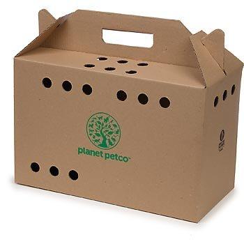 Planet Petco Cardboard Cat Carrier, My Pet Supplies