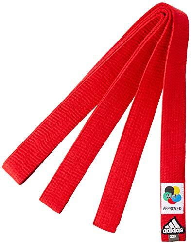ADIDAS Faixa Elite Karate 3,20 VERM-WKF