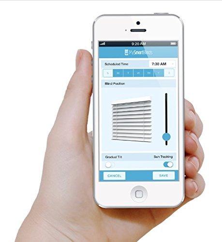Mysmartblinds automation kit motorized blinds for ios for Best motorized blinds reviews