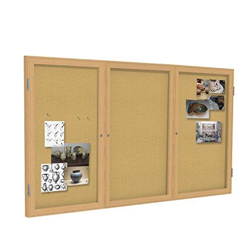 Oak Indoor Cork Board - Ghent 4
