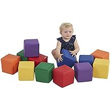 ECR4Kids Softzone Toddler Play Soft Blocks (12-Piece)