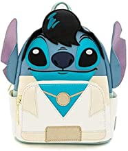 Loungefly Disney Elvis Stitch Cosplay Womens Double Strap Shoulder Bag Purse