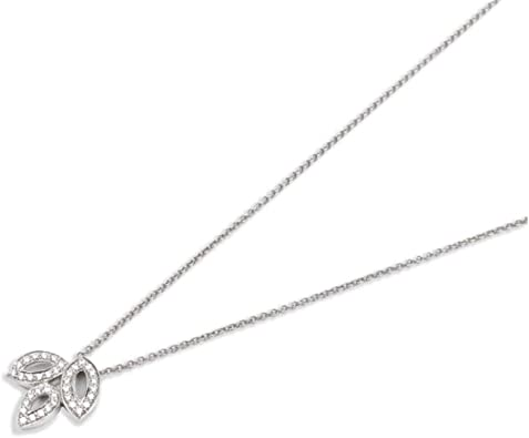 Sterling Silver 925 Hand Made Necklace With Cubic zirconia colors Stone in Marquis shape.