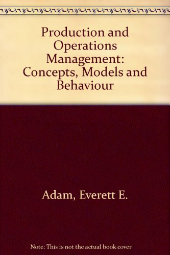 Production And Operations Management Book Pdf