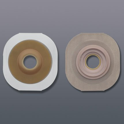 """B000O0AC6S New Image Pre-Sized Convex Flextend Skin Barrier with Tape - Flange: 1 3/4\"""", Pre-Cut: 7/8\"""", Green - Box of 5 41S42B2hC0mL"""
