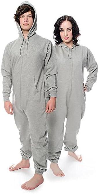 Blue Banana - Pijama de una pieza - para hombre gris M ...