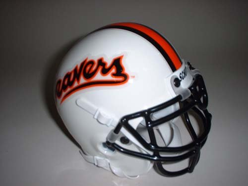 Schutt Oregon State Beavers (1993) Mini Throwback Football Helmet from