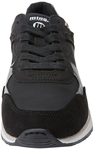 Deporte Zapatillas Soft de Negro Negro Mujer para MTNG Negronylonka Nanami qaS5wwt