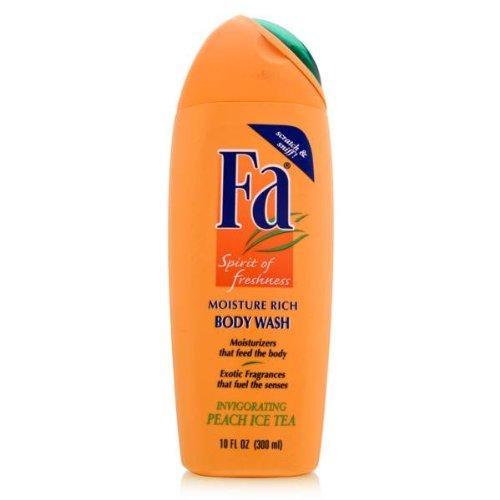 Fa Moisture Rich Body Wash, Invigorating Peach Ice Tea - 10 OZ