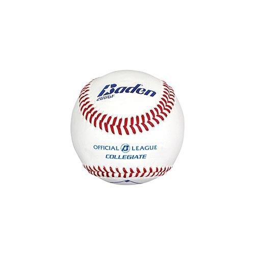 Baden Sports Official League Collegiate Flat Seam Baseball - Set of 12