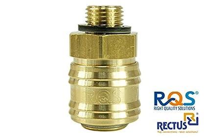 1 pieza de aire comprimido, rqs (typ26) con rosca exterior 1 ...
