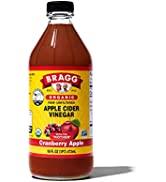 Bragg Organic Apple Cider Vinegar Blends 16oz, with Cranberry Apple