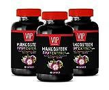 Immune System Natural Pills - Mangosteen Fruit Extract with ACAI Fruit, Pomegranate, RESVERATROL, NONI Fruit, Goji Berry - Acai Berry Pills - 3 Bottles 180 Capsules
