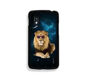 Hipster Space Lion Google Nexus 4 Case - Fits Nexus 4