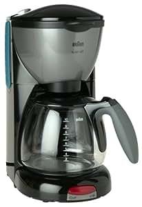 Amazon.com: Braun KF550-BK AromaDeluxe 10-Cup Coffeemaker, Black: Braun Coffee Maker: Kitchen ...