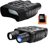 Smyidel HD Digital Night Vision Binoculars Infrared Waterproof 640x480 30FPS Photo Camera and Camcorder with 400m Detection Range 2.3 Inch TFT LCD with 32G Memory Card