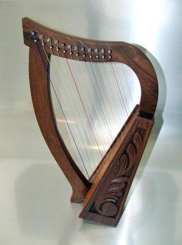 12 strings harp