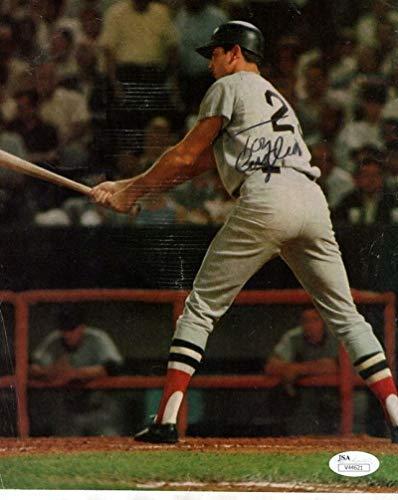 Tony Conigliaro Red Sox Rare Signed Magazine Page Tony C. V44621 - JSA Certified - Autographed MLB Magazines