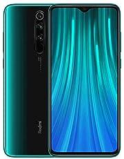 "Xiaomi Redmi Note 8 Pro Phone 6GB RAM + 64 GB ROM, 6.53""Full Screen, Helio G90T Octa-Core MTK CPU, 20MP Front e 64MP AI Four Mobile Camera Camera Posteriore Versione Globale (Verde)"