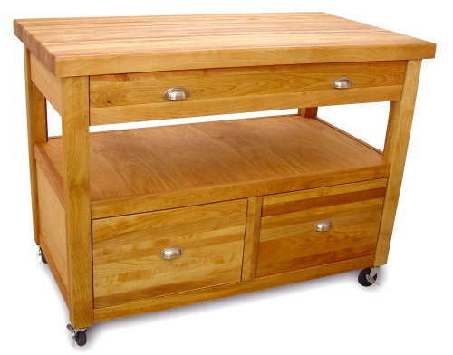 Catskill Craftsmen Kitchen Kitchen Cart - Catskill Craftsmen Grand Americana Workcenter