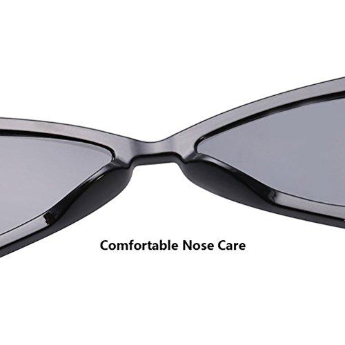Shape Designer Beige Triangular Sunglasses 1980's de pour Special amp; Soleil Retro Frame Classic Femme et Homme lunettes Case Zhhlaixing S0U8wxqXn