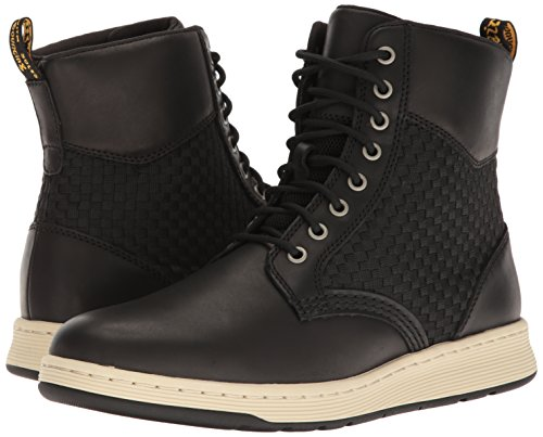 Dr Black Men's Martens Wv Rigal Combat Boot wcHwYArq