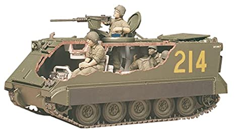 Amazon Com M 113 Us Army Armoured Personnel Carrier Tank W Soldiers