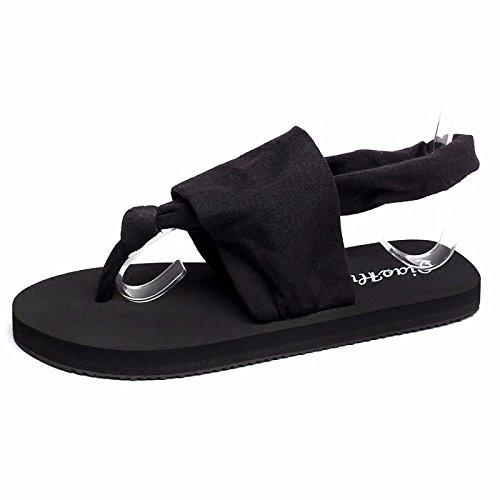 shoes XZ Women's summer tide LIUXINDA Summer Black nSCxZZqw