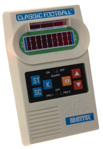 Mattel Classic Football Handheld Game (Vintage Handheld Electronic Games)