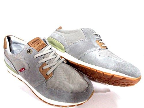 Sneakers Hombre LEVIS Light Grey NY RUNNER II -225838-