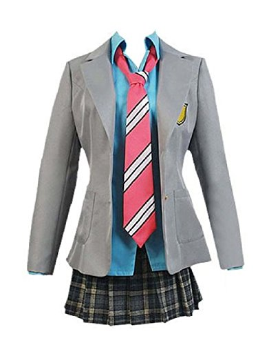 Maconaz Your Lie in April Kaori Miyazono Tsubaki Sawabe Uniform Womens-Female-Medium