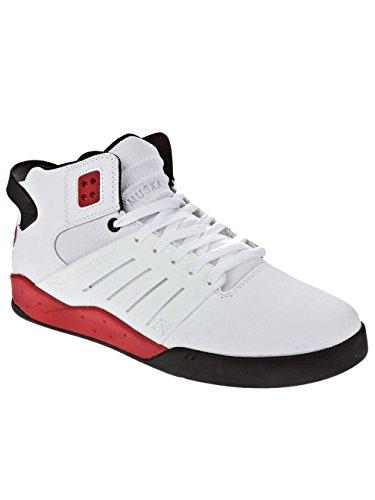 Supra Hombres The Skytop Iii Sneaker 11.5 Blanco