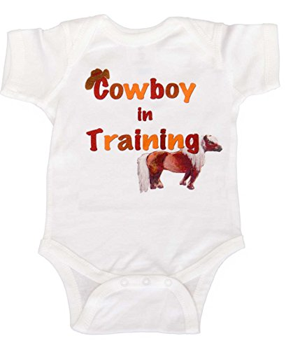Mumsy Goose Baby Boys' Bodysuit Cowboy