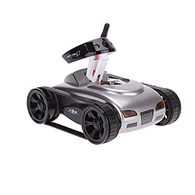 GoolRC New wifi Mini i-spy RC Tank Car RC Camera Cars Happy Cow 777-270 with 30W Pixels Camera for iPhone iPad iPod Controller-Gray