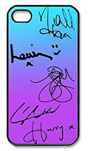One Direction Signatures Iphone 5 Slim-fit Case, Best Iphone Case at Luckyshopping Store