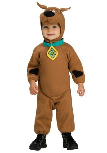 Little Boys' Deluxe Scooby Doo Costume - 2T