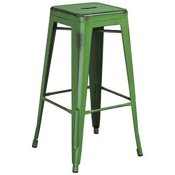 Fine Amazon Com Trent Austin Design Barchetta 30 Stylish Metal Squirreltailoven Fun Painted Chair Ideas Images Squirreltailovenorg