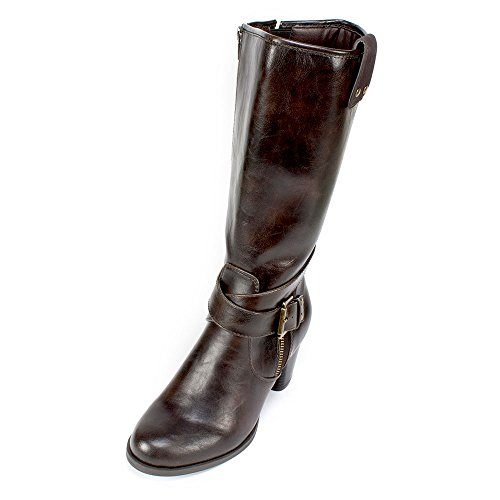 Rialto 'CAPARELLA' Women's Boot, Dark Brown - 9 M