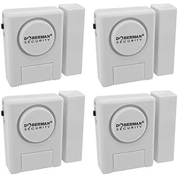 Window/Door Alarm Kit   4 Pack