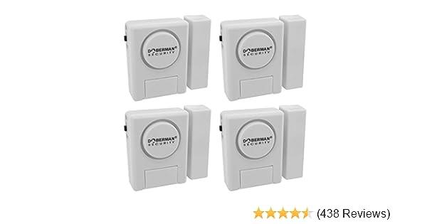 Amazon.com : Window/Door Alarm Kit   4 Pack : Home Security Systems :  Camera U0026 Photo