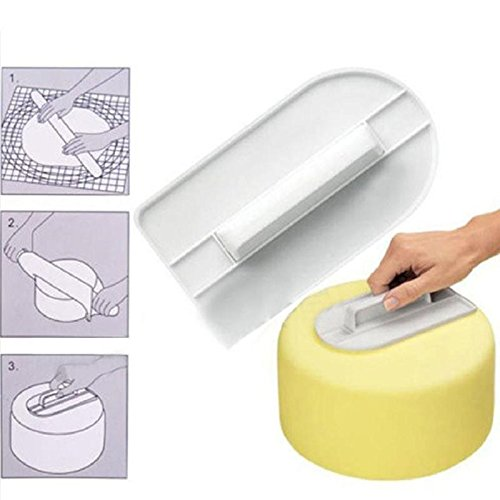 Cake Smoother Home Plastic Polisher Tools Cutter Decorating Rolled Fondant Tool Baking - Rolled Kitchen Fondant