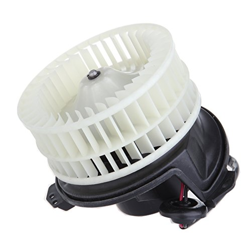 ABS plastic Heater Blower Motor SCITOO w/Fan Cage fit 2004-2008 Chrysler Pacifica 2001-2007 Chrysler Town andamp 2001-2003 Chrysler Voyager 2001-2007 Dodge Caravan 2001-2007 Dodge Grand Caravan Front