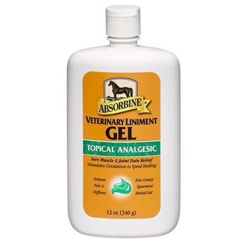 Absorbine Veterinary Liniment Gel, 12-Ounce