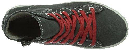 Ricosta Zaynor Unisex-Kinder Hohe Sneakers Grau (grigio 480)