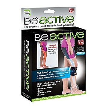 As Seen On Tv Be Active Acupressure Point Sciatic Nerve Leg Brace Back