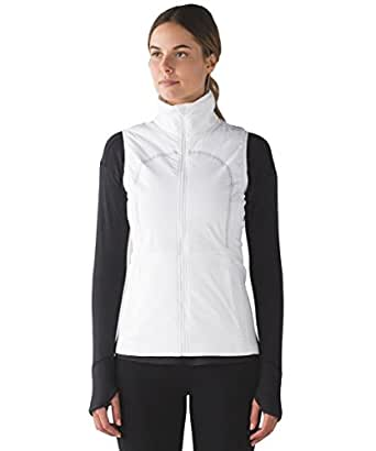 Amazon.com: Lululemon Run For Cold Vest - White - Size 4