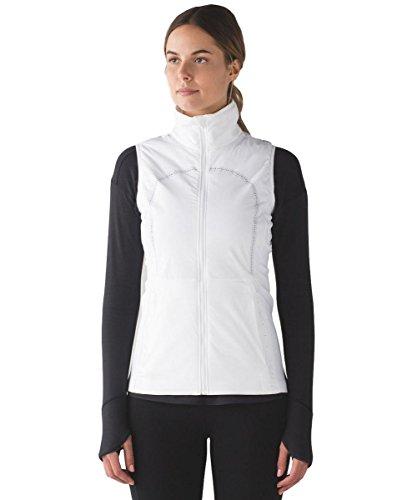 Lululemon - Run for Cold Vest - White - Size 10 by Lululemon