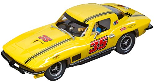 Carrera 30906 Chevrolet Corvette Sting Ray #35 Digital 132 Slot Car Racing Vehicle 1:32 Scale