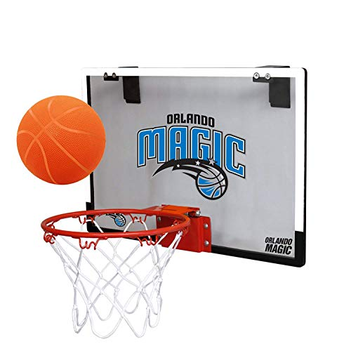 NBA Orlando Magic Game On Indoor Basketball Hoop & Ball Set, Large, Blue